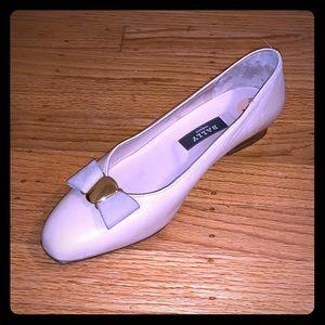 Bally Vasano Vintage Nude Heel